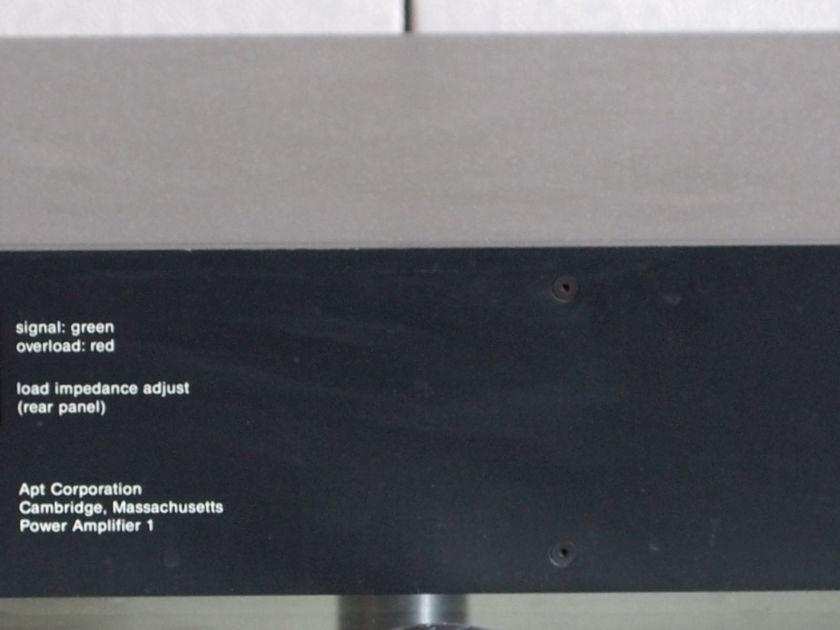 Apt 1 quality power amplifier
