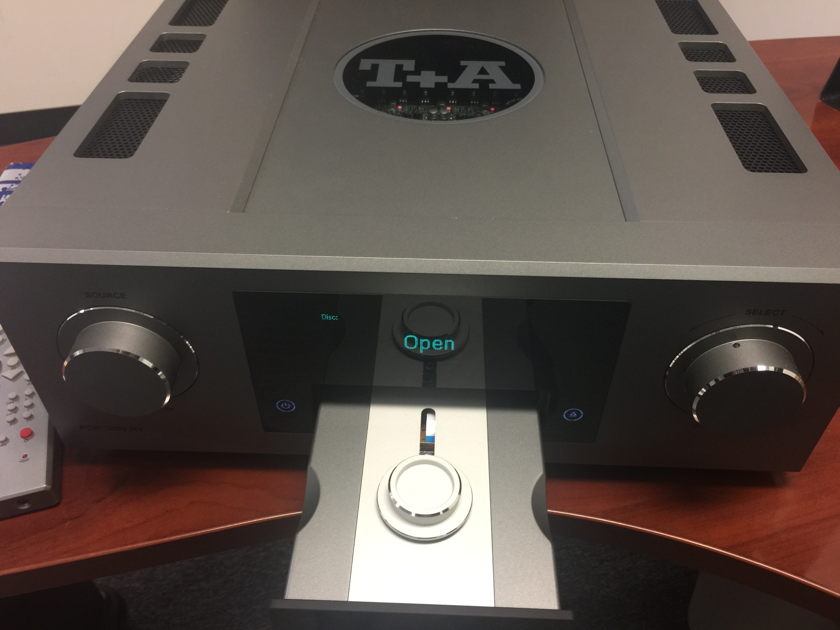 T+A Elektroakustik PDP 3000 HV CD/SACD Player & PCM DSD DAC - Titanium finish
