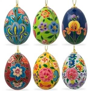 Egg Christmas Ornaments