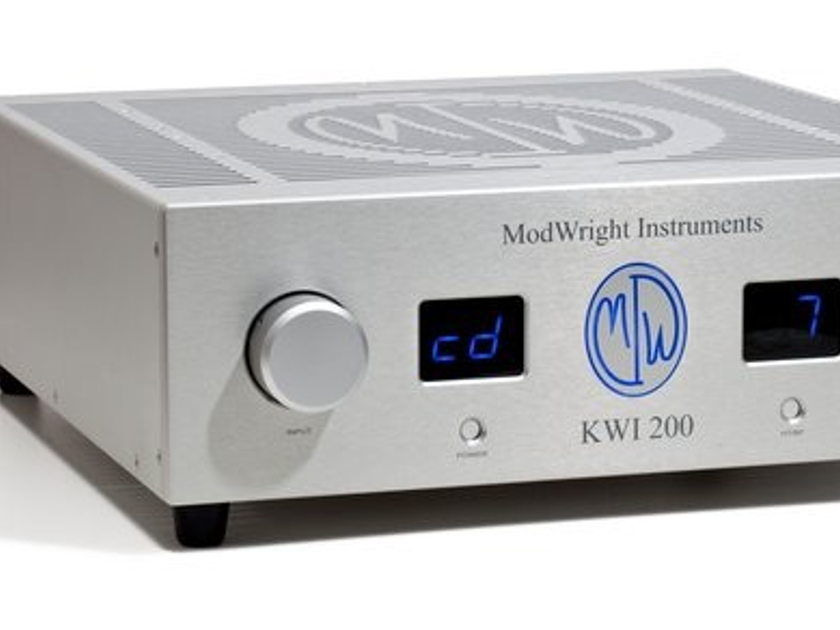 ModWright  KWI-200 Awesome, powerful integrated with phono