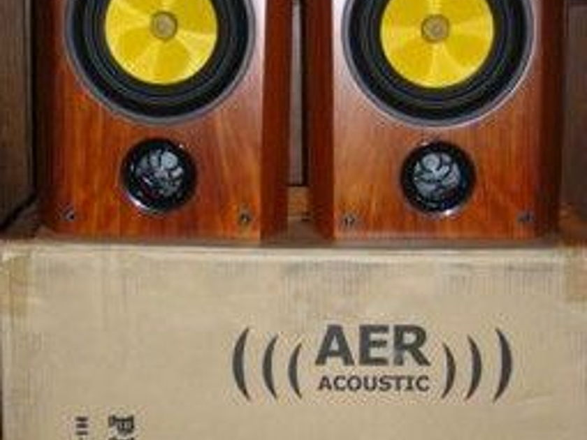 Exotic Rosewood AER Pisces Mkiii      w/Spectron X-over, (new)  ) - SPECTACULAR!
