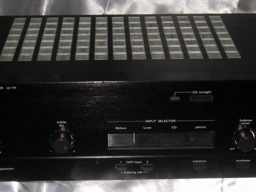 Luxman LV-111 and LT-111 integrated amplifier and tuner package deal