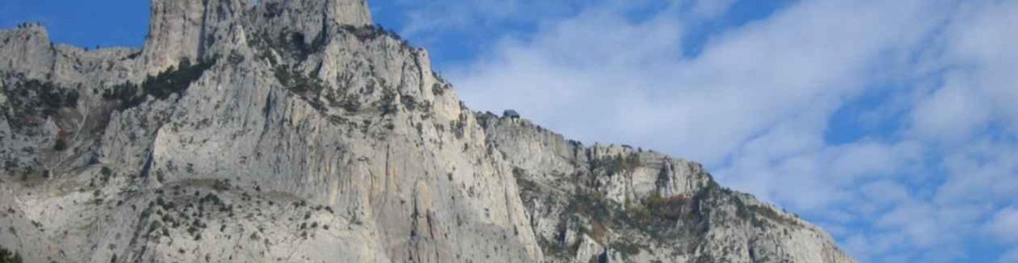 The top of Ai-Petri mountain