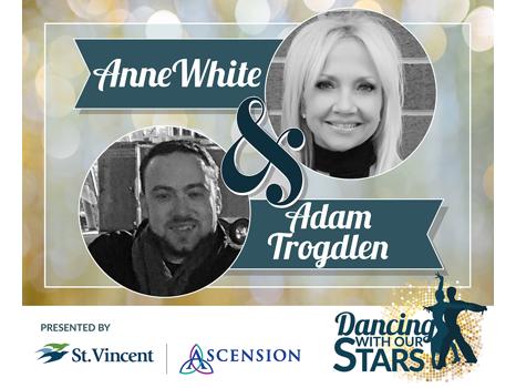 ANNE WHITE & ADAM TROGDLEN