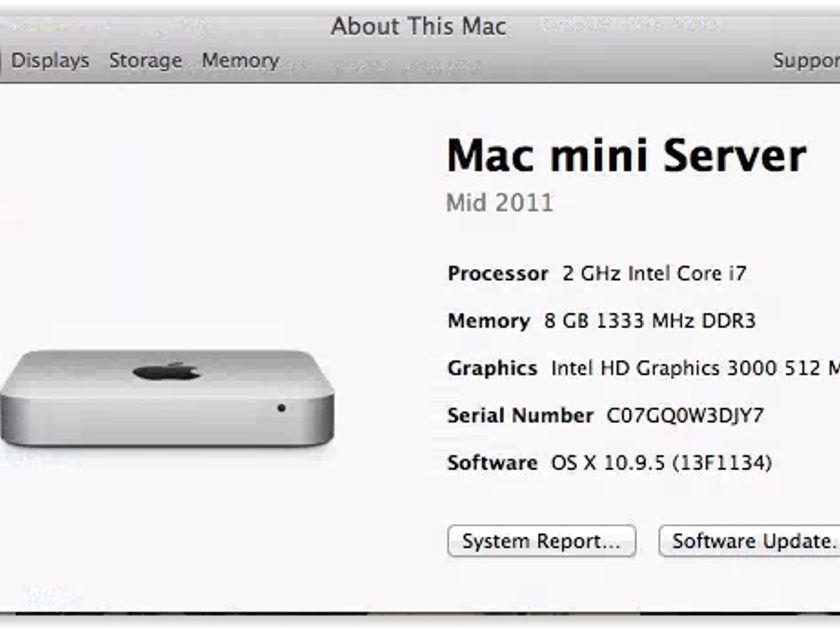 Apple Mac Mini + Sonore ex/D DAC