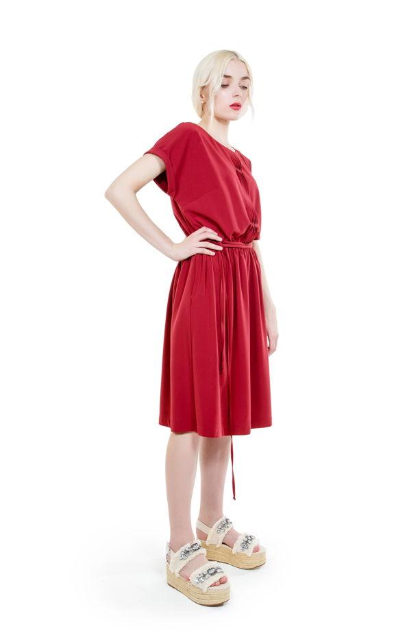 1ae0118a8e6 Платье хлопковое с карманами на кулиске с поясом в магазине «Sisters ...