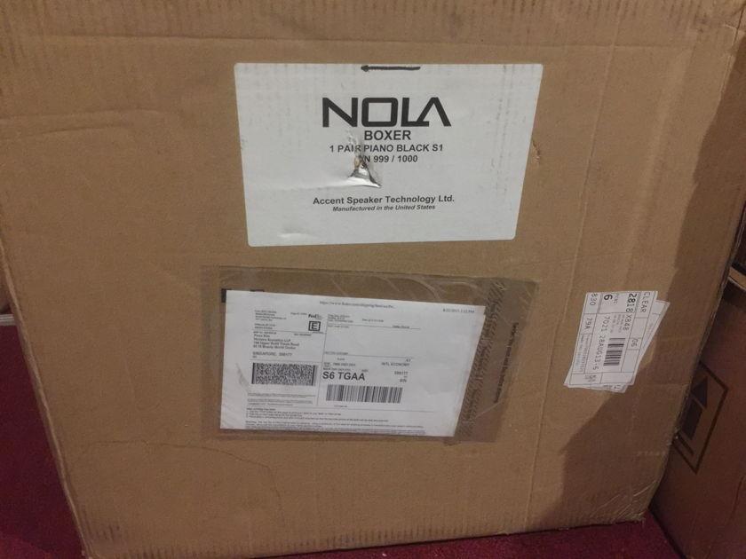 Nola Speakers Boxer S1 Gloss black