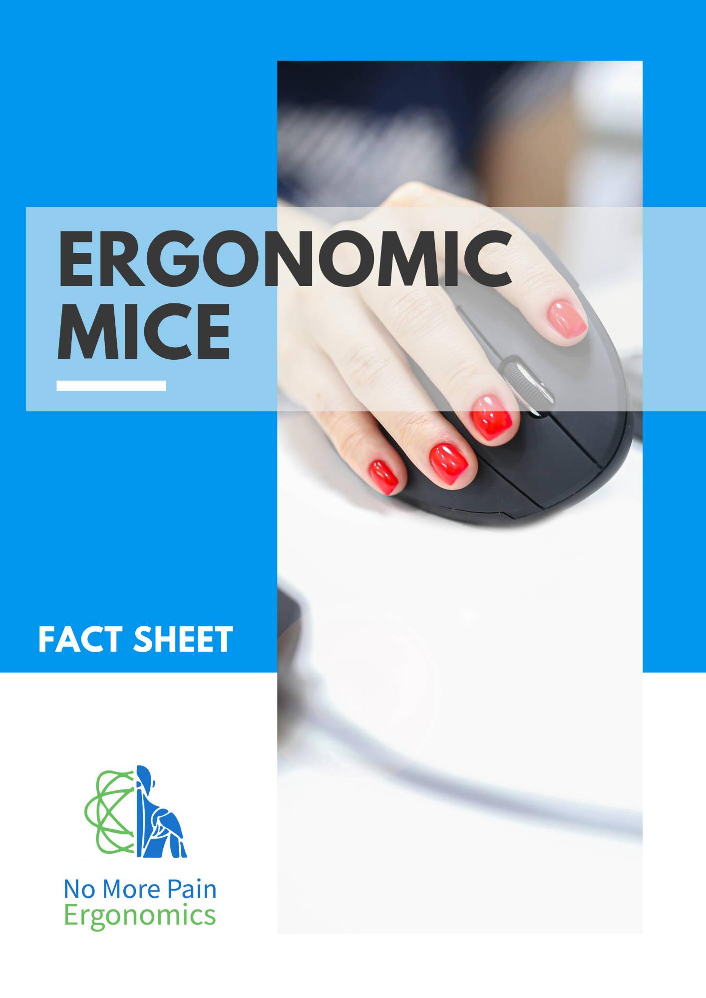 ergonomic mice fact sheet resource guide