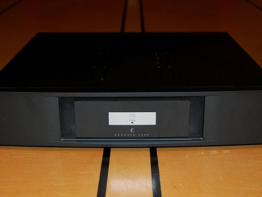 Linn Akurate 2200 black stereo amp