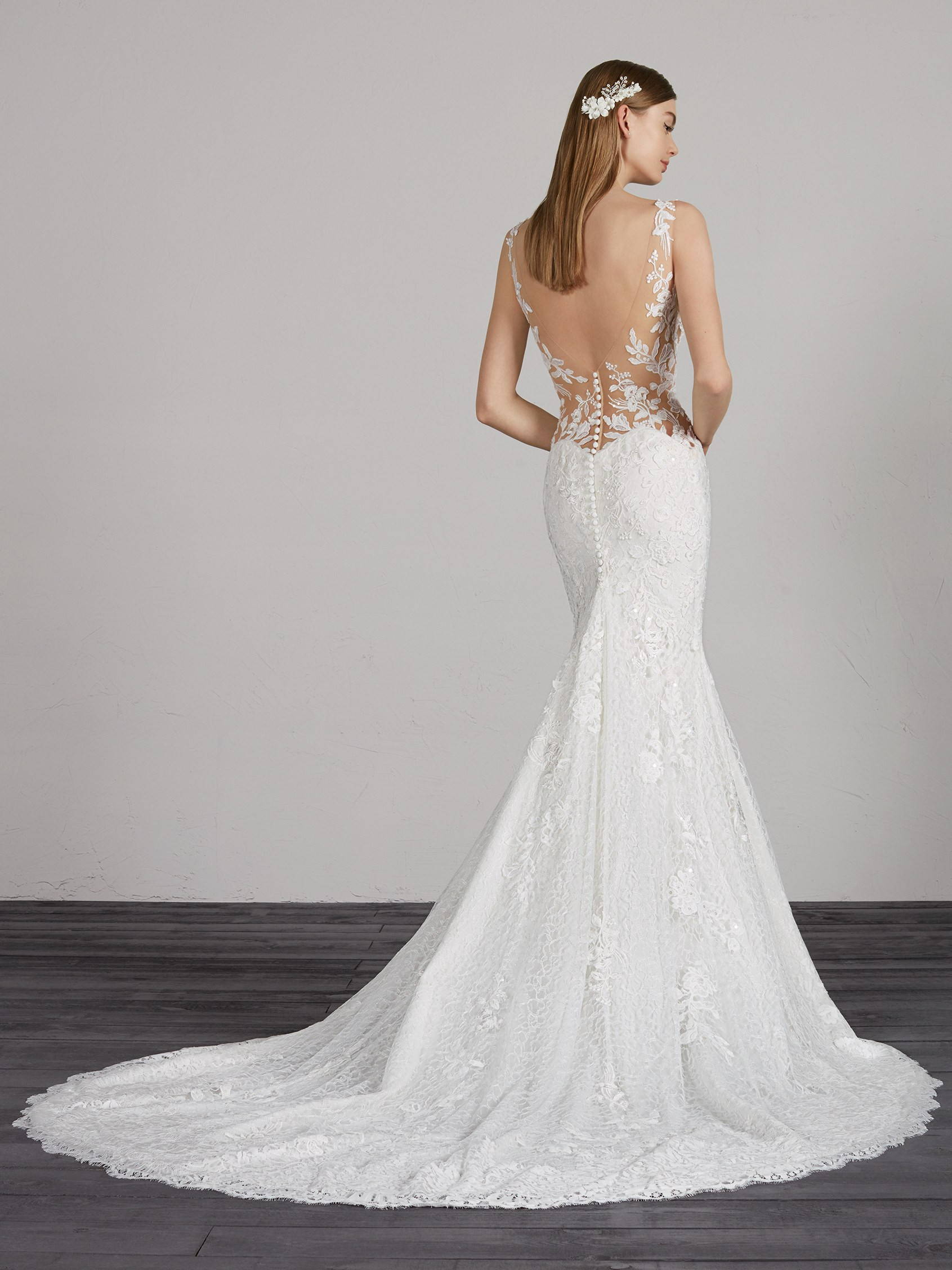 PRONOVIAS MOROCCO DRESS