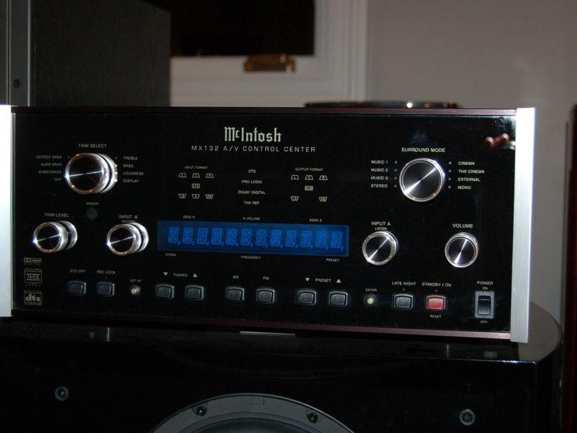 McIntosh MX-132 A/V Control Center .. Mcintosh MX 132
