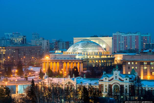 Обзорная экскурсия «Юная столица древней Сибири»