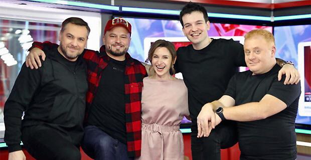 Андрей и Валери Бирбичадзе в гостях у «Русских Перцев» на «Русском Радио» - Новости радио OnAir.ru