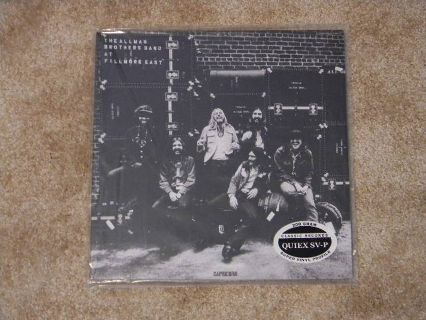 THE ALLMAN BROTHERS BAND - AT FILLMORE EAST CLASSIC RECORDS