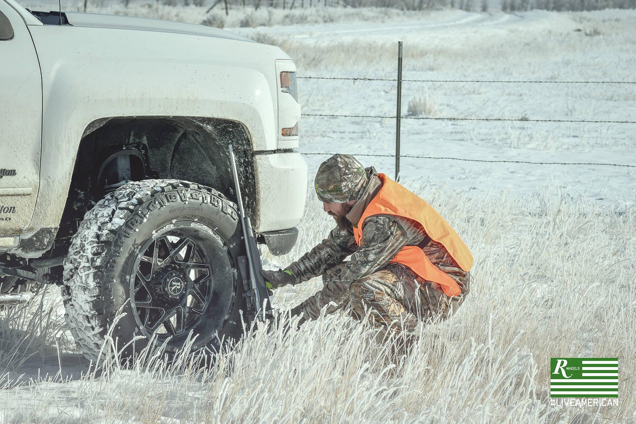 #liveamerican remington wheels outdoors montana hunter mike ruvolo