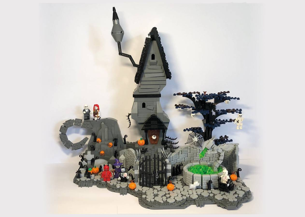 The Nightmare Before Christmas- Halloween  Town