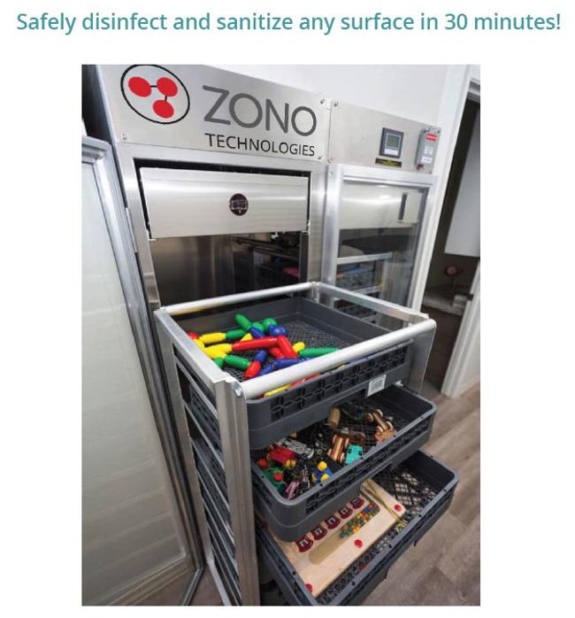 ZONO machine at Primrose Wexford