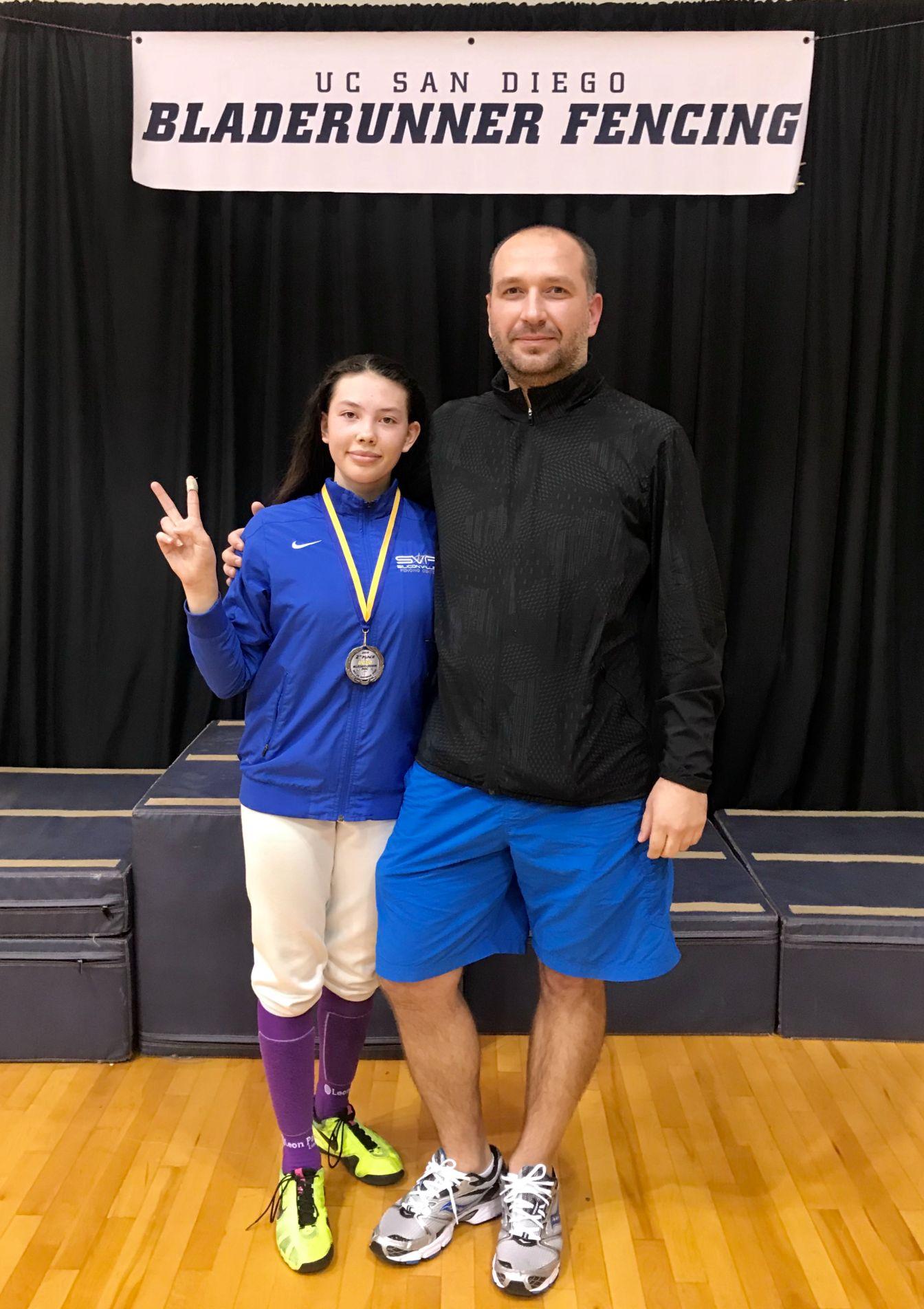 Skylar and Coach Maksym