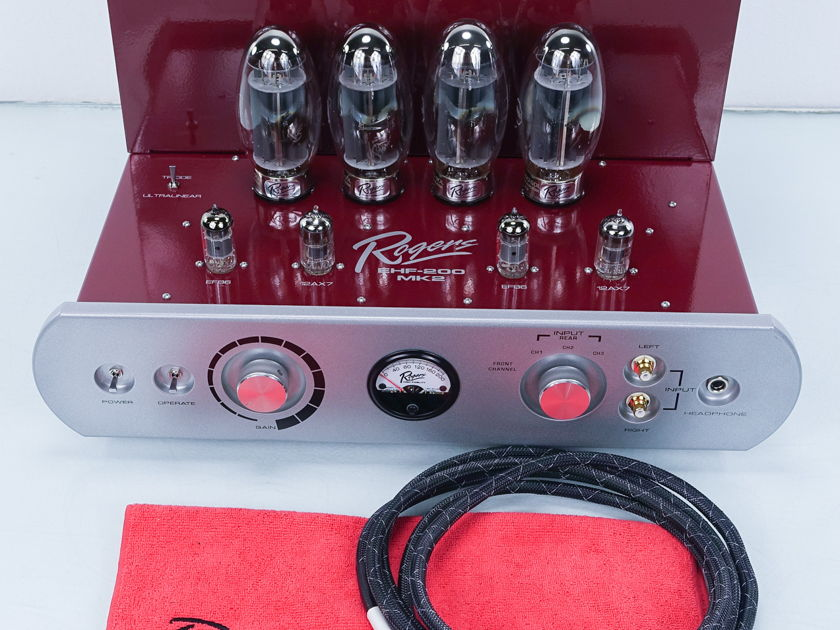 Rogers High Fidelity EHF-200 MK II  Tube Amplifier (5965)