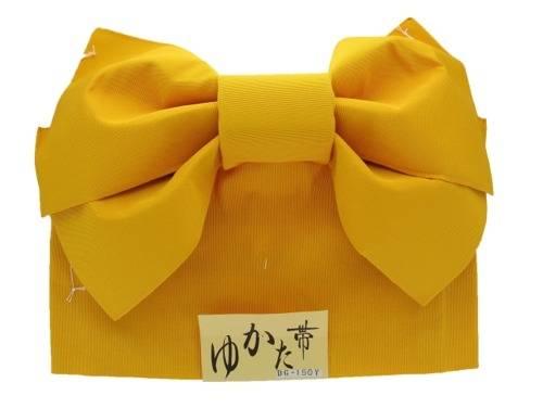 yellow tsuke obi