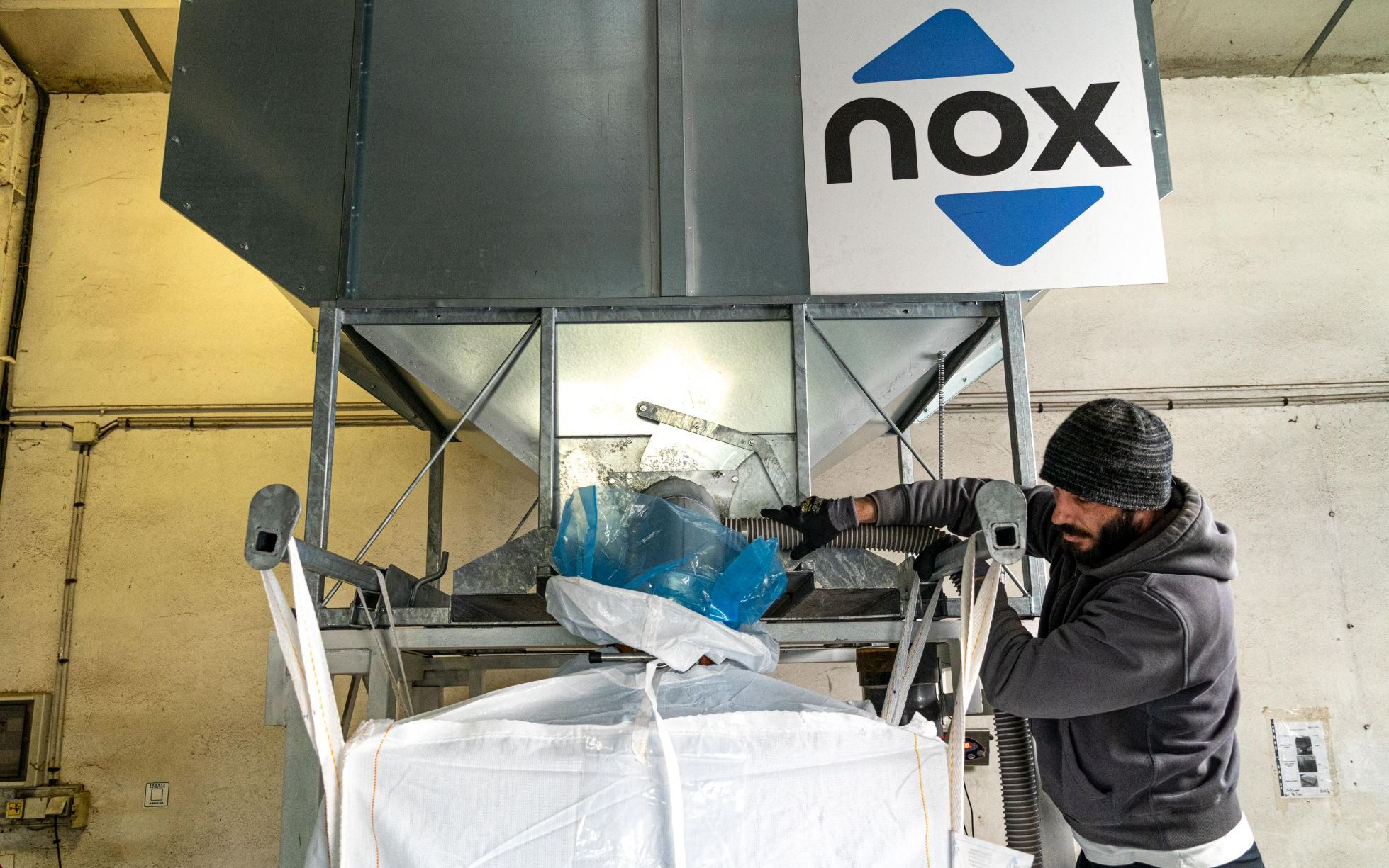 big bag nox remplissage