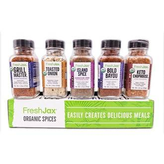Organic Keto Grilling Spices Gift Set