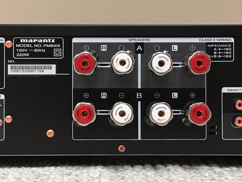 Marantz PM-8005 Intergrated W/ Signature Edition Upgrade by the Upgrade Company