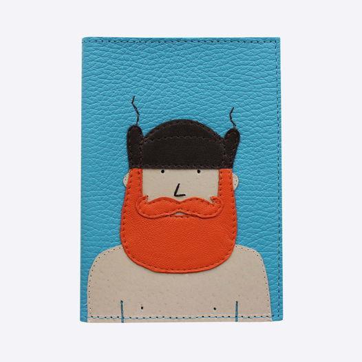 Обложка для паспорта  УШАНКА