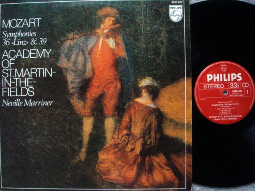 Philips / MARRINER, - Mozart Symphony No.36 Linz & 39,  EX!