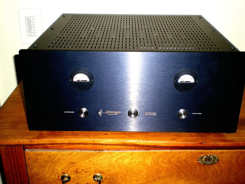 OMNIGON Full-Function Tube Preamplifier Phonostage