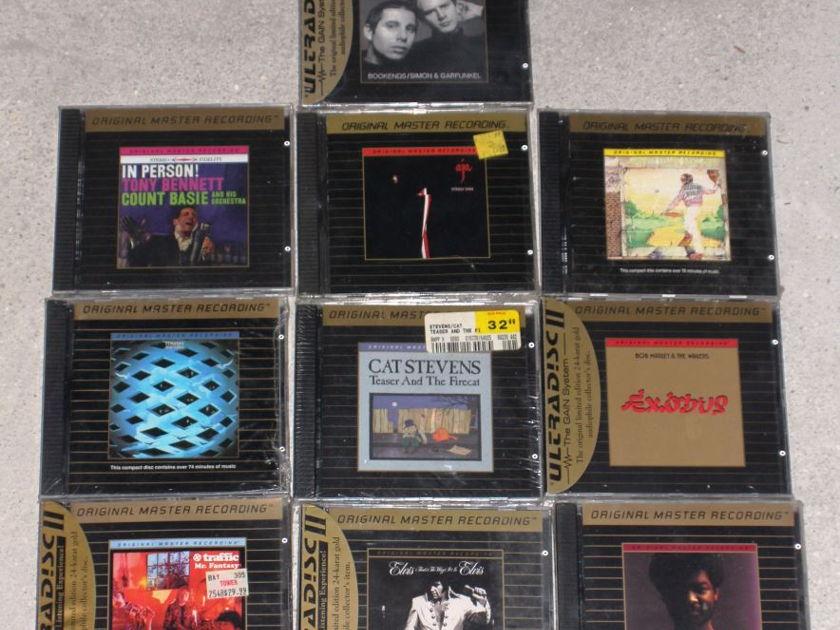 MFSL Sealed Collection  - Elvis, Floyd,Who, Elton, Bennet ALL Sealed!!!