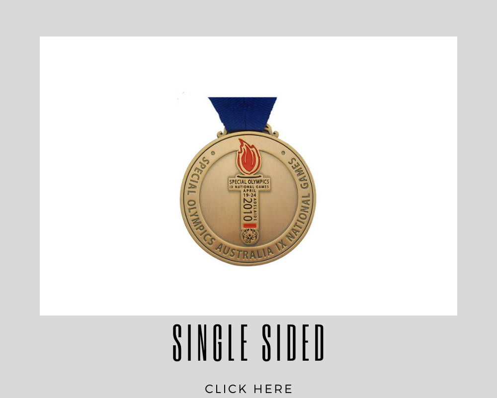 Custom Single Sided Corporate Medallions