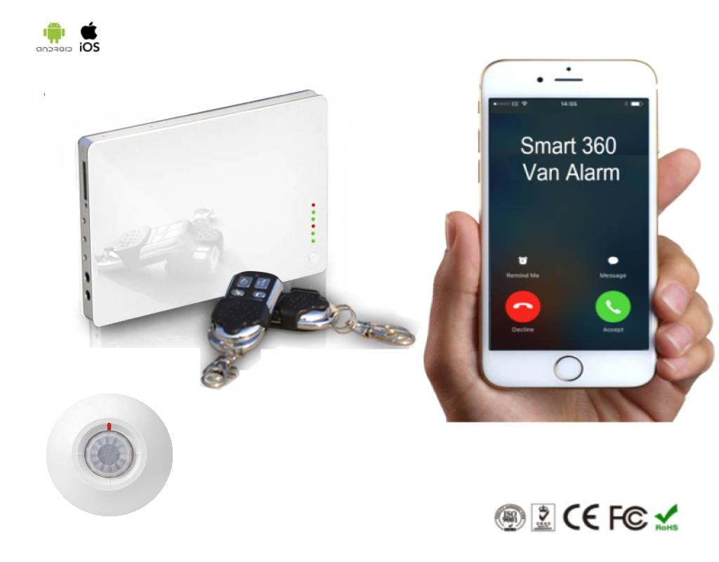 van alarm security