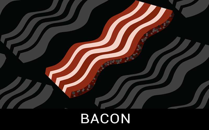 bacon button