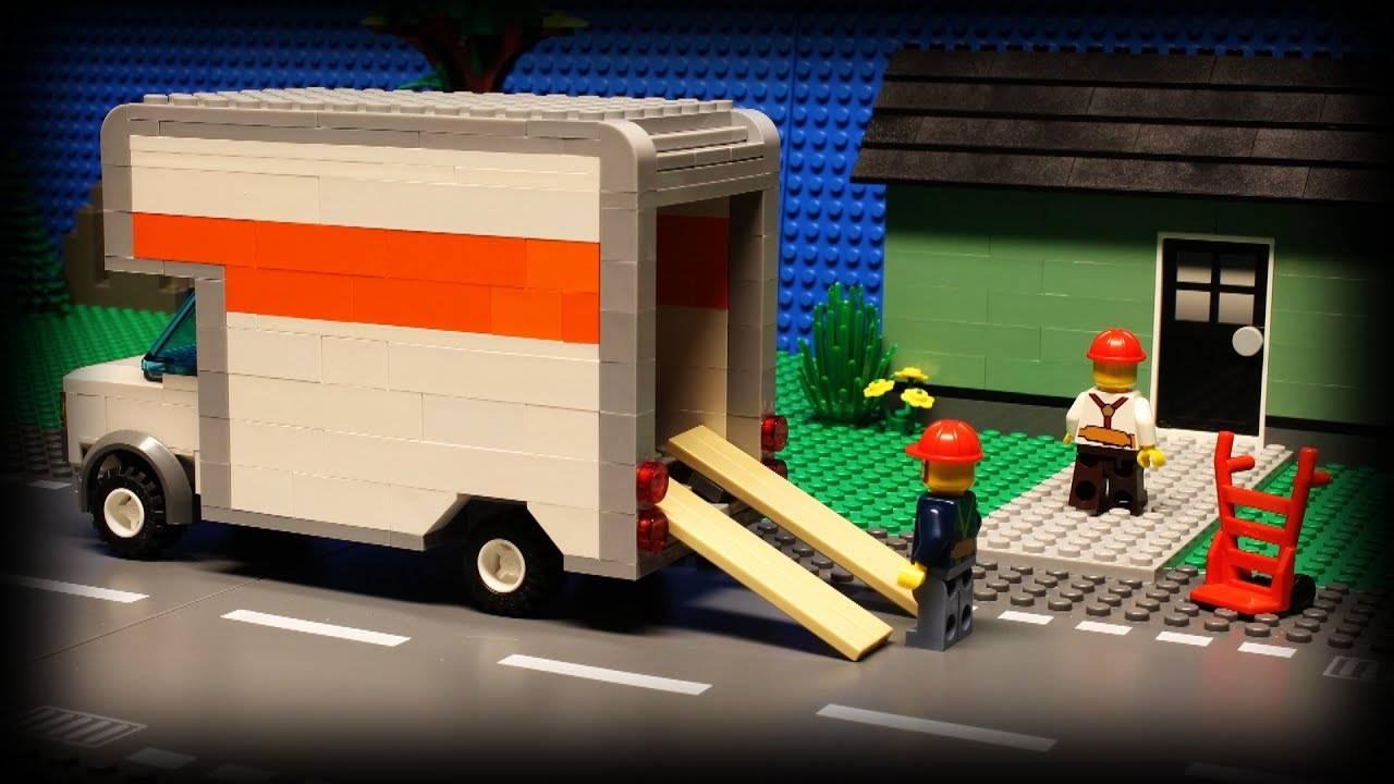 Lego Moving Tips