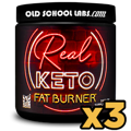 3x Real Keto Fat Burner