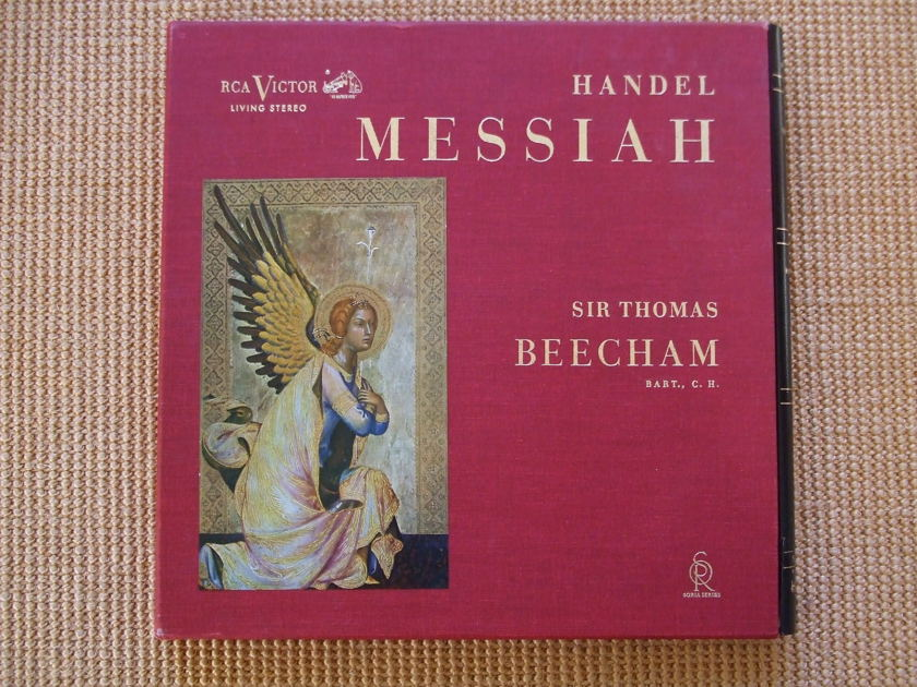 Handel RCA Living Stereo LDS 6409 - Messiah Sir Thomas Beecham