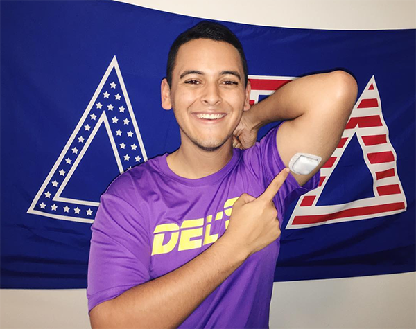 USF Delt with T1D gives back to JDRF