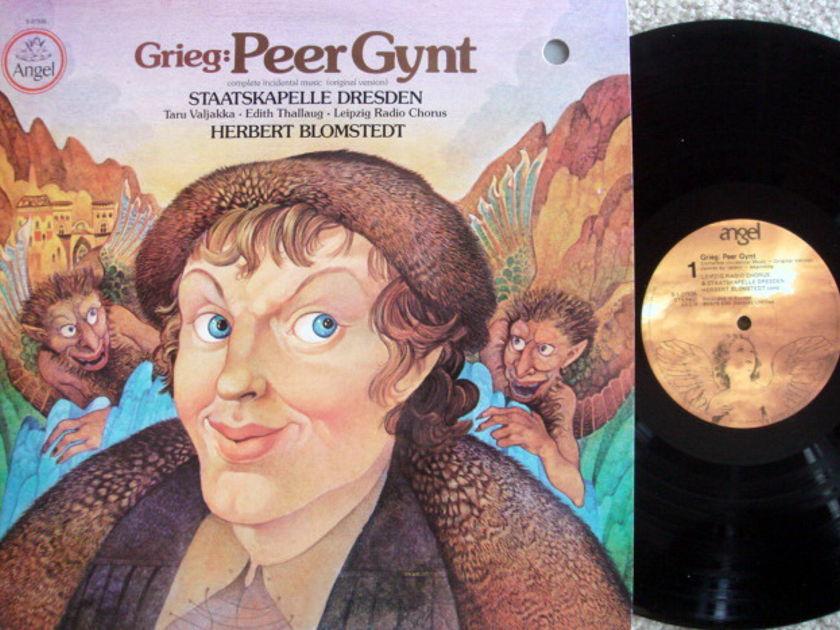 EMI Angel / BLOMSTEDT, - Grieg Peer Gynt, MINT!