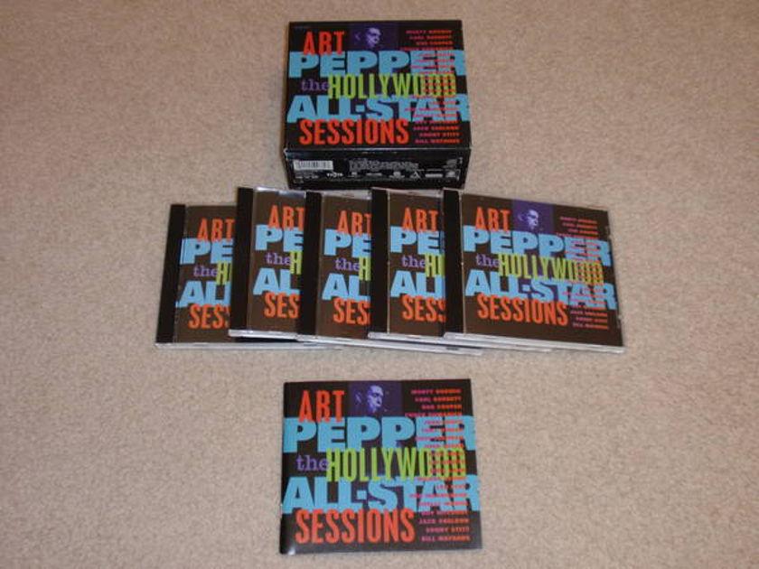 Art pepper - Hollywood All-Stars 5 cd boxset, excellent