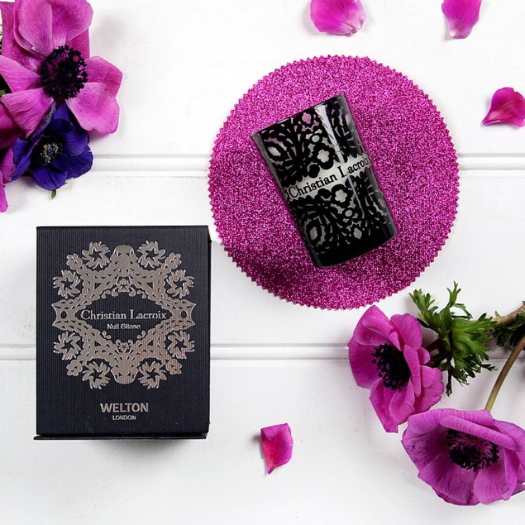 Spring Inspiration Limited Edition Caspule collection Christian Lacroix X Welton London scented candles