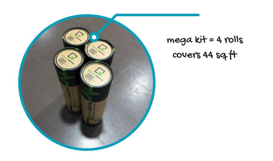 SoundSkins Pro Mega Kit