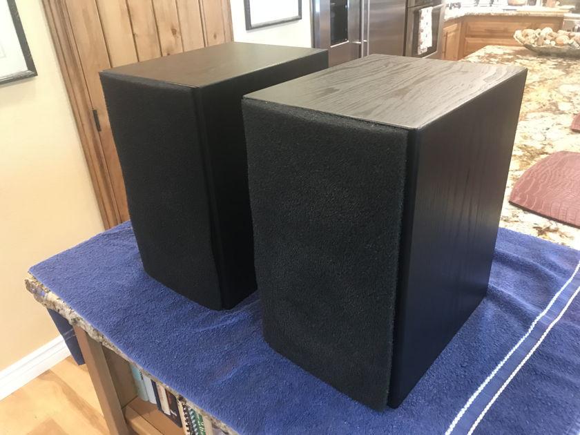 Aerial Acoustics Model 5 Black Bookshelf or rear surround speakers