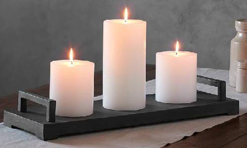 Maintain a distance while placing candles in group