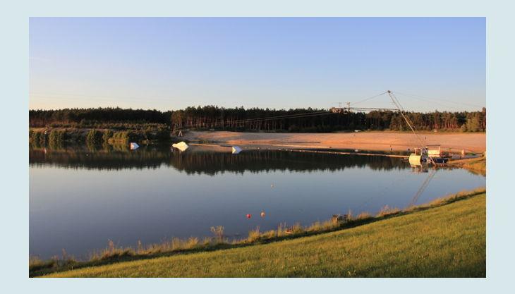 wasserskipark zossen panorama view
