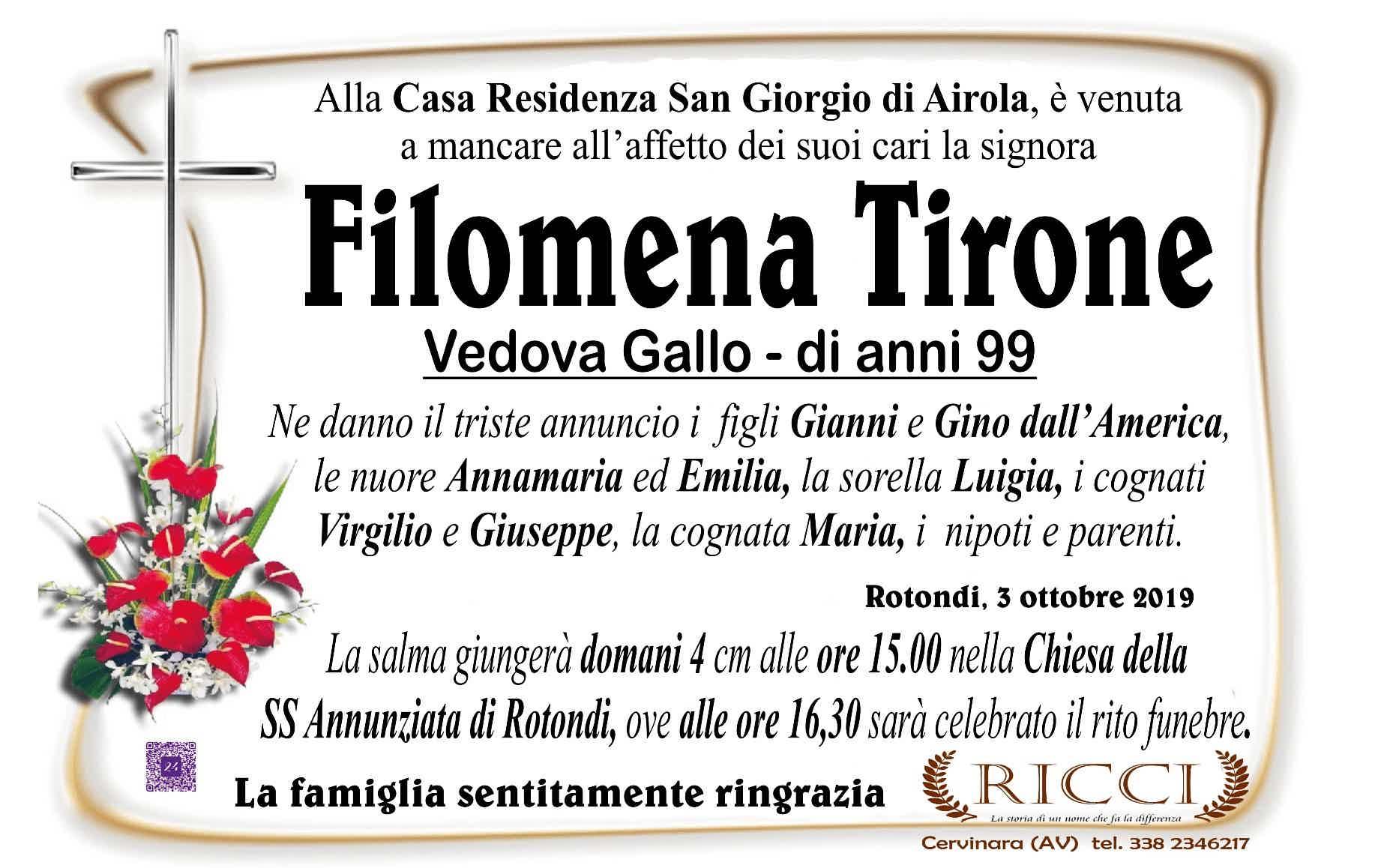 Filomena Tirone