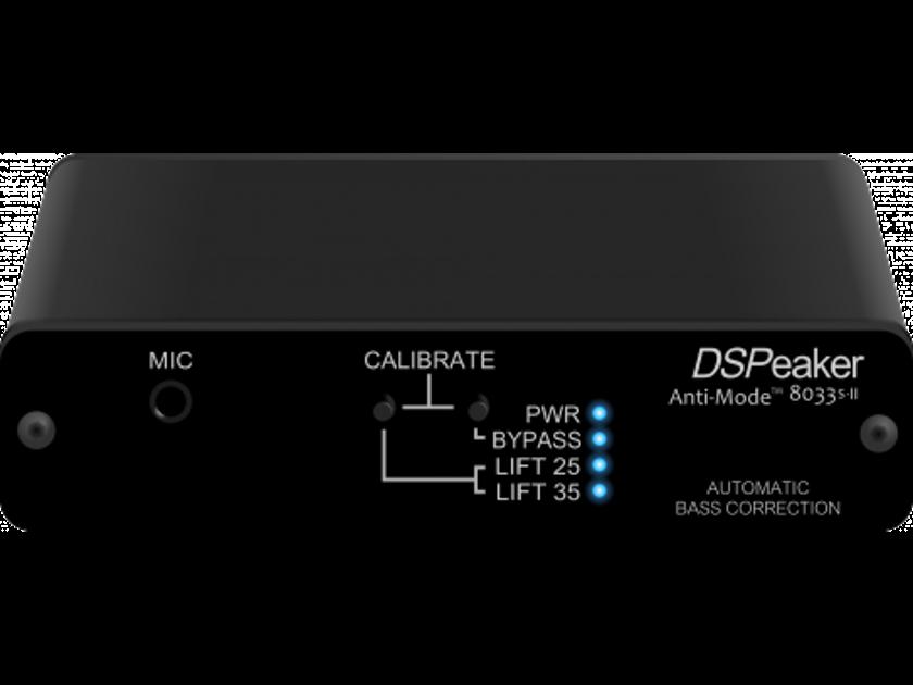 DSPeaker 8033S II Subwoofer room correction-New