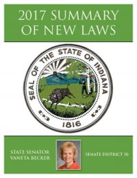 2017 Summary of New Laws - Sen. Becker