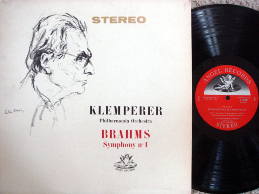 EMI Angel Semi-Circle / KLEMPERER, - Brahms Symphony No.1,  NM!