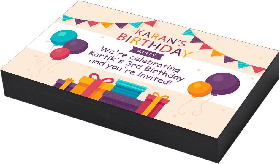 Specialbirthday invitation announcement
